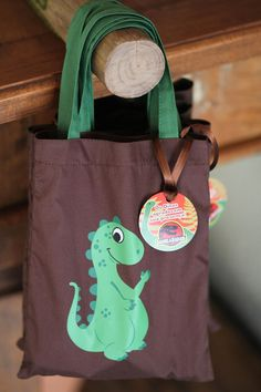 lembrancinha Festa de Dinossauros