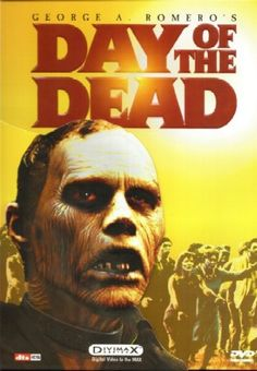 Dawn of the Dead 1985 6 out of 10 Zombie Movie George Romero Bub the Zombie Horror Movie Posters, Best Horror Movies, Classic Horror Movies, Horror Films, Film Posters, Zombie Movies, Scary Movies, Great Movies, Amazing Movies