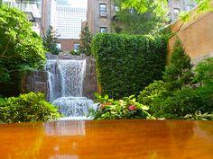 A hidden gem in NYC ~ Greenacre Park, 51st Street, New York City