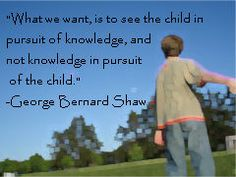 Child in Pursuit of Knowledge by Ken Whytock, via Flickr