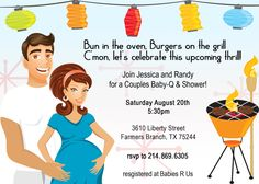coed baby shower