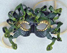 Green Medusa Mask by *merimask on deviantART