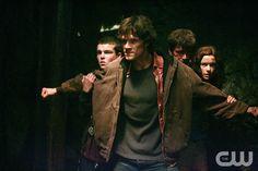 "Supernatural Sesaon 1 Episode 1 - ""Wendigo"" Pictured: Jared Padalecki as Sam Winchester Credit: ©ÊThe WB/Michael Courtney"
