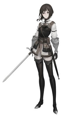 ArtStation - Alma the Friendliness, Shuichiro Yamamoto Source by anime Female Character Design, Character Design References, Character Design Inspiration, Character Art, Character Portraits, Character Outfits, Girls Characters, Female Characters, Fantasy Girl