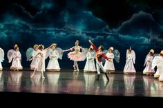 2013 Nutcracker- New opening to Act II, #AngelScene #NataliePieper #AndrewTaft #PaigeThompson #BalletIdaho #LincolnMidwestBalletCompany #PurpleSkyProductions