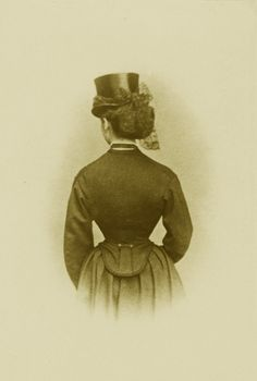 Alice, Gdss of Hesse and by Rhine (nee Pss of England) in riding habits. 1860s.