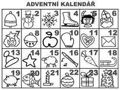 Christmas Activities For Kids, Preschool Christmas, All Things Christmas, Christmas Time, Xmas, Christmas Cookie Icing, Pusheen, Kids Education, Advent Calendar