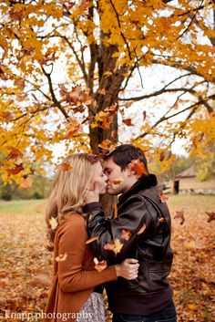 Fall Love - doing a fall/ rustic engagement shoot   :) :)