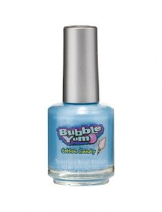 cotton candy scented nail polish? yes, please.