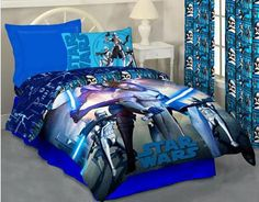 Star wars bedroom decor for baby bro..