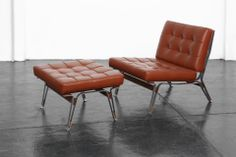Lounge Chair & Ottoman by the immensely talented Ico Parisi!
