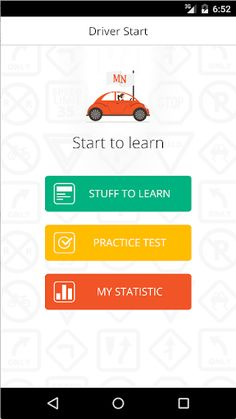 mn drivers manual practice test