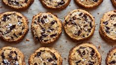 "These wildly popular cookies were developed by Alison Roman for her cookbook, ""Dining In: Highly Cookable Recipes."" ""I've always found chocolate chip cookies to be deeply flawed (to know this about me explains a lot),"" she writes ""Too sweet, too soft, or with too much chocolate, there's a lot of room for improvement, if you ask me But no one asked me, and rather than do a complete overhaul on the most iconic cookie known to man, I took all my favorite parts and invented something else…"