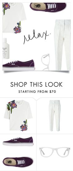 """""""Relax"""" by lamemechose ❤ liked on Polyvore featuring Acne Studios, 3.1 Phillip Lim, Vans, Muse and Fresh"""