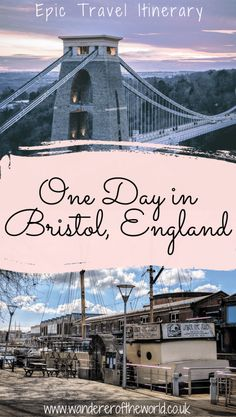 Epic Bristol Itinerary How To Spend One Day In Bristol Europe Travel Guide, France Travel, Travel Guides, Travel Uk, London Travel, Travel Tips, Bristol London, Bristol England, Great Buildings And Structures
