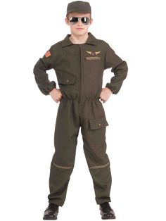 Fighter Jet Pilot Costume for Kids