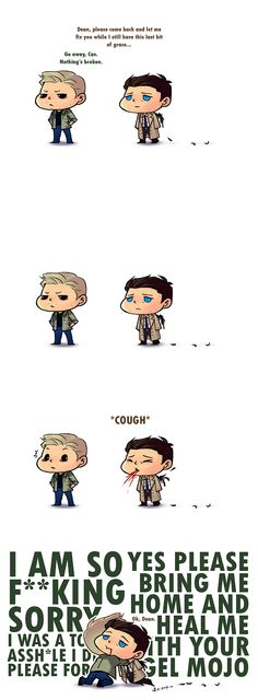 DESTIEL: How To Rescue A Deanmon by Ringquesse on deviantART