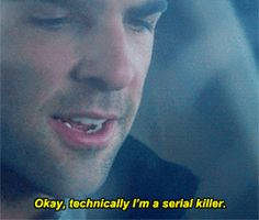 Heroes, Sylar, Zachary Quinto