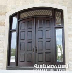 Double Front Door With Sidelights cheap entry doors with side lights | renoir, doors and steel