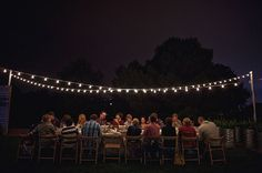the lights! i love them. perfect summer/early fall shindig if I had the space.