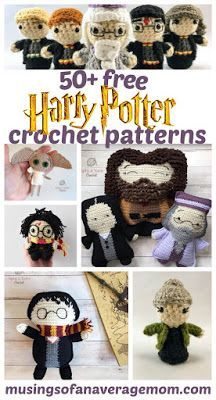 Hottest Totally Free harry potter Crochet Patterns Ideas Musings of an Average Mom: Free crochet patterns Harry Potter Pillow, Harry Potter Crochet, Harry Potter Scarf, Harry Potter Dolls, Minion Crochet Patterns, Pokemon Crochet Pattern, Amigurumi Patterns, Knitting Patterns, First Harry Potter Movie