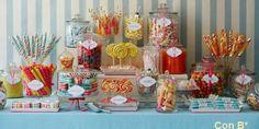 Gran variedad de chuches que querrán los más pequeños y tú. #boda #wedding #chuches