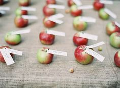 Great idea for wedding seat assignment
