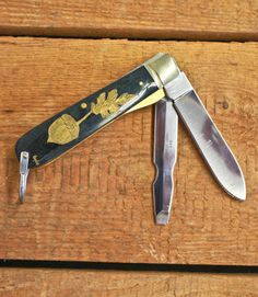 Barnaby Black — ACORN POCKET KNIFE