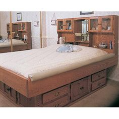 waterbed frame plan no 756 - Water Bed Frame