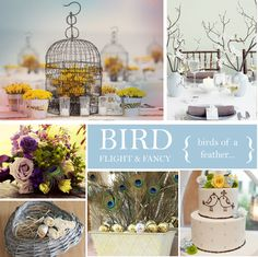 Bird Wedding Theme