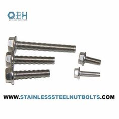 Carbon Steel DIN6921 Metric A2 80 Stainless Steel Flange Bolt