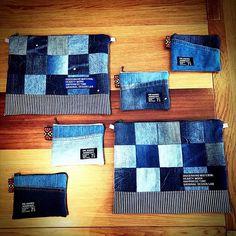 ハンドメイド「cheerful!!」 (@cheerful66handmade) | Instagram photos and videos Denim Ideas, Diy Purse, Old Jeans, Denim Bag, Fabric Bags, Sewing Hacks, Handmade, Highlights, Minion
