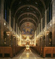 Holy Rosary Cathedral, Toledo - Probably the most beautiful Catholic church I've ever been to.