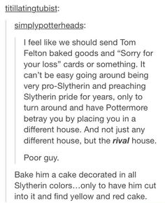 {Harry Potter} he finally came out of the closet and allowed the world to accept him for what he really is