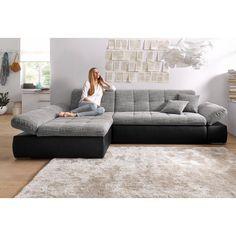 Ce grand canapé d\'angle en U conférera à votre salon moderne un ...
