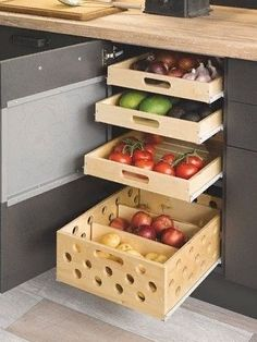 Amazing Kitchen Cabinet Organization For Modern Kitchen Style 06 Best Kitchen Cabinets, Diy Kitchen, Awesome Kitchen, Kitchen Small, Kitchen Pantry, Smart Kitchen, Kitchen Sinks, Granite Kitchen, Clever Kitchen Ideas