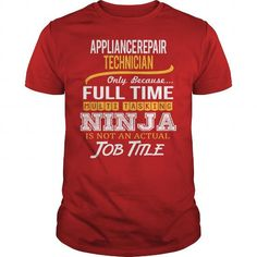Awesome Tee For Appliance Repair Technician T Shirts, Hoodies. Check price ==► https://www.sunfrog.com/LifeStyle/Awesome-Tee-For-Appliance-Repair-Technician-119696355-Red-Guys.html?41382