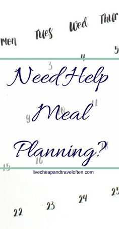 Check out this free challenge to learn the steps to make meal planning and cooking dinner quick and easy! Budget meal planning does not need to be hard! Use these meal planning tips to meal plan weekly.