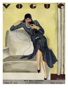 Vogue Cover - April 1929