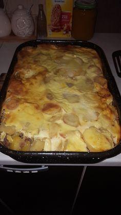 Musaca d cartofiori 😁😁😁 foarte gustoasa