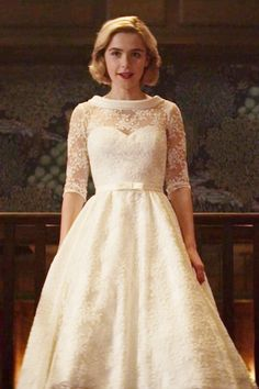 f94c2026130 The wedding dress Sabrina wore for Halloween on Chilling Adventures of  Sabrina Vestido Sabrina