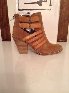 DV by Dolce Vita Women's Cognac Suede Caitlynn Boot US Size 9.5 #DVbyDolceVita #FashionAnkle