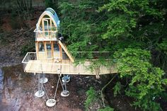 Treehouse Solling by Baumraum | HomeDSGN