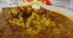 Fabulosa receta para Lentejas con arroz en olla rápida. Este es un guiso consistente, ideal para los dias de frio.  Vídeo: Lentejas con arroz en olla rápida