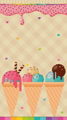 #ice_cream #wallpaper #iphone