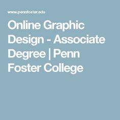Online Graphic Design - Associate Degree | Penn Foster College #adoptionhomestudytips