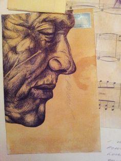 Biro study - Mark powel. By Hannah Carlile