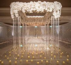 Hundreds of candles flooded the ceremony area making our clear acrylic structure with overflowing orchids center stage. This created the most romantic and luxurious design for the wedding. (Planner: @internationaleventco @margot_iec Rentals and Design: @revelrymatias for @revelryeventdesign Design Florist: @theemptyvase @emptyvaseyvonne Photographer: @jessicaclaire Videographer: @cloudlessweddings Lighting: @images_lighting Band: @liventgroup Venue: @bevhillshotel)