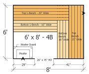 Sauna Kit 6x8