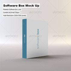 Software Box Mock-up Template PSD. Download here: http://graphicriver.net/item/software-box-mockup/3292392?s_rank=1778&ref=yinkira